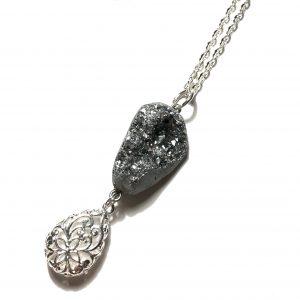 agat-smykke-halskjede-håndlaget