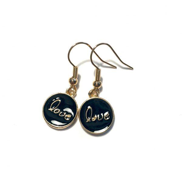 ørepynt-øreanheng-øredobber-love-gull