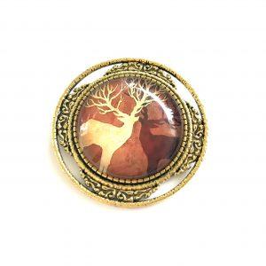 brosje-hjort