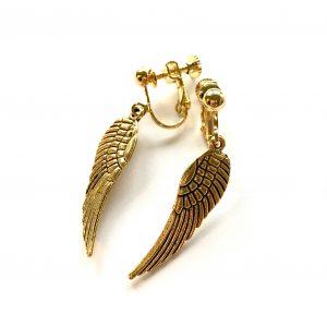 ørepynt-gull-vinge