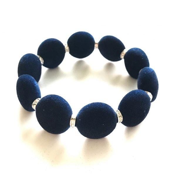 julegavetips-armbånd-blå-fløyel