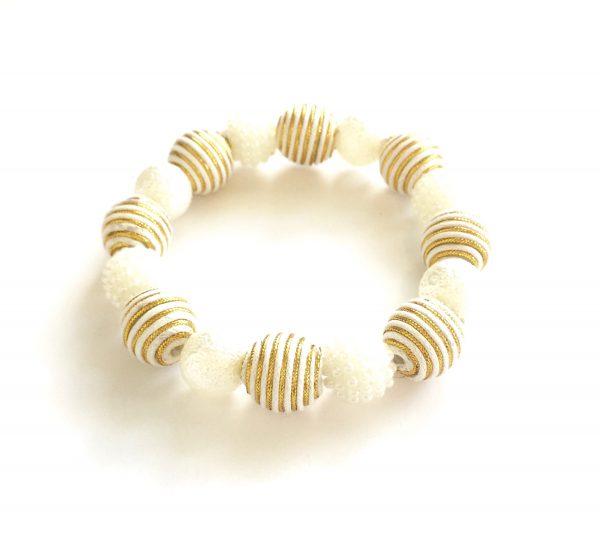 hvitt-gull-armbånd