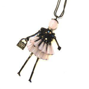 rosa-dukke-smykke-halskjede