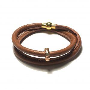 brun-lammeskinn-armbånd-håndlaget-smekresmykker