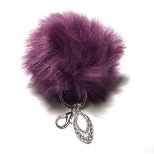 lilla-pels-dusk-nøkkelring