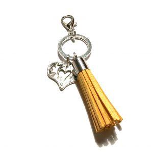 gul-dusk-hjerte-nøkkelring