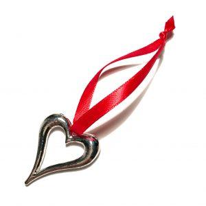 rød-hjerte-jule-tre-pynt