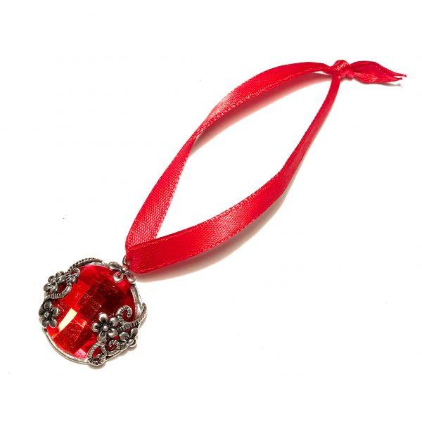 rød-juletrepynt