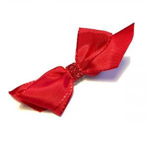 rød-hårpynt-hårspenne-hårsløyfe