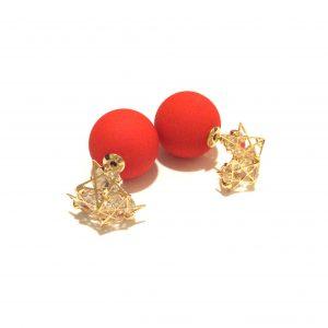 rød-doble-øredobber
