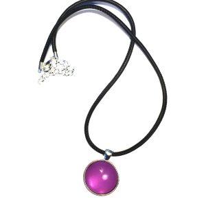 lammeskinn-lilla-smykke-halskjede