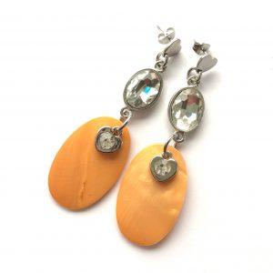 orange-ørepynt-øredobber-øreanheng-boho-bohem