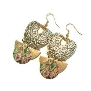 bohem-øreanheng-ørepynt-øredobber-gull