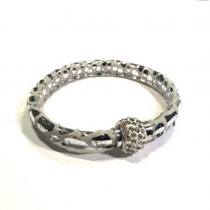 lammeskinn-slange-armbånd