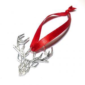 hjort-gevir-juletrepynt