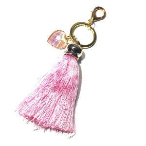 rosa-dusk-nøkkelring-nøkkelhank