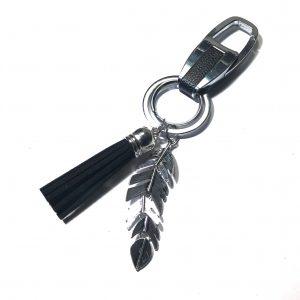 dusk-fjær-nøkkelring-nøkkelhank