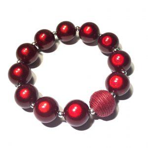 elastisk-armbånd-rød-julearmbånd