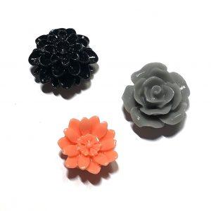 blomst-kjøleskapmagneter