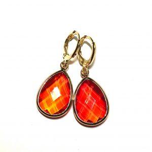 orange-ørepynt-øredobber-øreanheng-gull