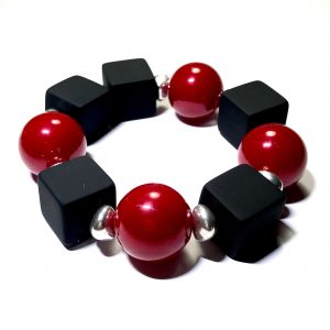 elastisk-armbånd-rød-julearmbånd-statement