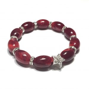 elastisk-armbånd-rødt-jul