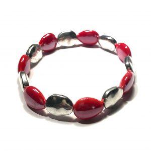 elastisk-keramikk-rød-armbånd