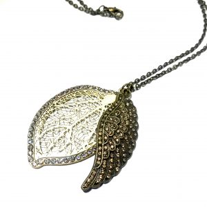 bronse-boho-smykke-halskjede