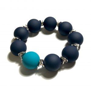 blått-turkis-elastisk-armbånd