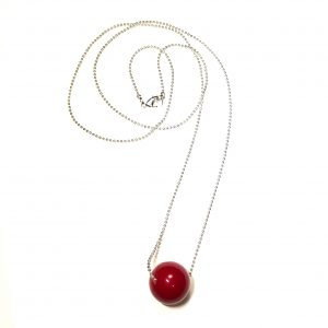 rød-jul-smykke-halskjede