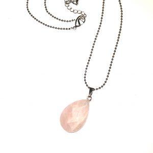 rosenquartz-smykke-halskjede