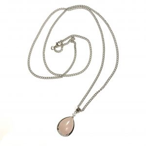 rosenquarts-rosa-smykke-halskjede