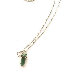 hjerte-grønn-adventurin-smykke-halskjede