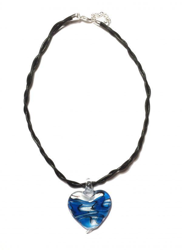 halskjede-smykke-hjertesmykke-glassmykke