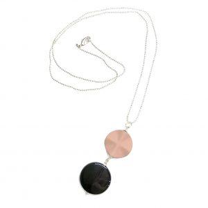 pudder-rosa-smykke-halskjede