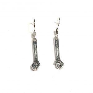 rørlegger-snekker-skiftnøkkel-øreanheng-ørebobber-ørepynt