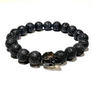 lava-swarovski-krystall-elastisk-armbånd-sort