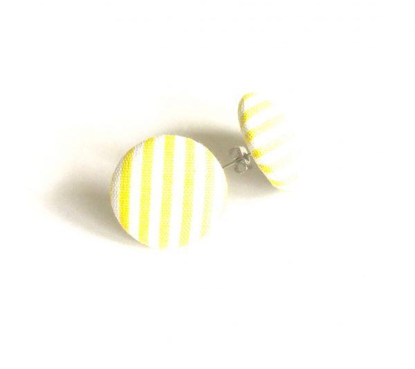 gul-hvit-stripete-øredobber-ørepynt
