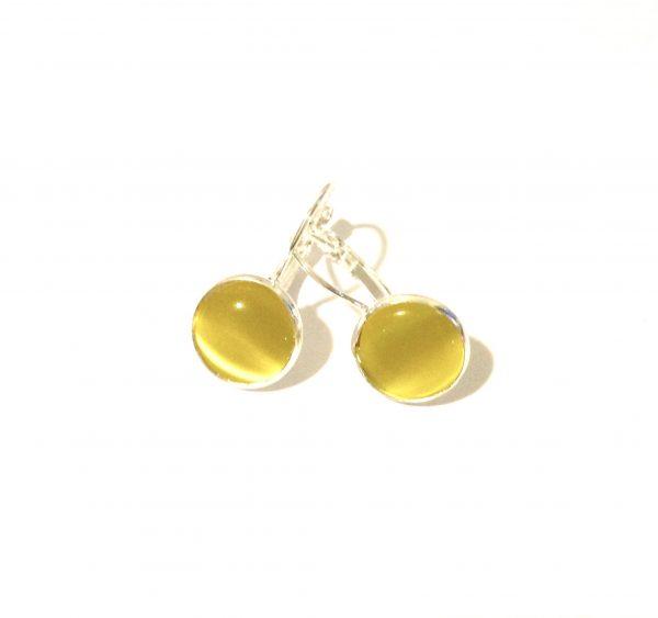 gul-catseye-øreanheng-ørepynt-øredobber