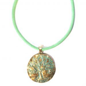 turkis-smykke-halskjede-bronse