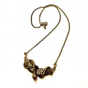 bronse-smykke-halskjede-slange