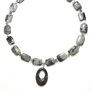zebra-jasper-blodstein-smykke-halskjede