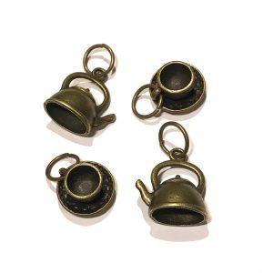 maskemarkør-tekopp-tekanne-bronse
