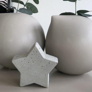 stjerne-betong-dekorasjon