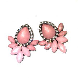 rosa-øredobber