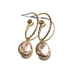 rosa-øreringer-øreanheng