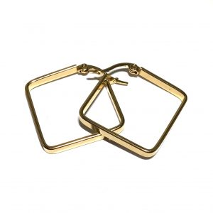 kvadrat-gull-øreringer