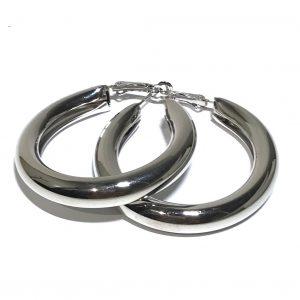 sølv-chubby-øreringer
