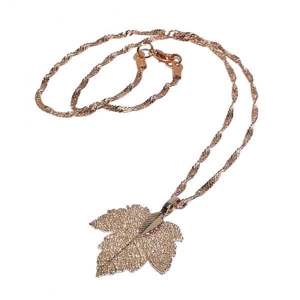 rosegull-smykke