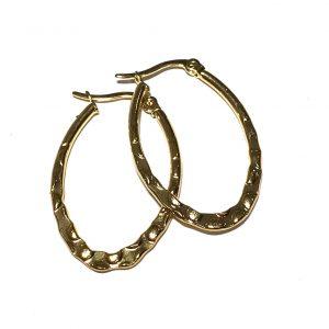 ovale-øreringer